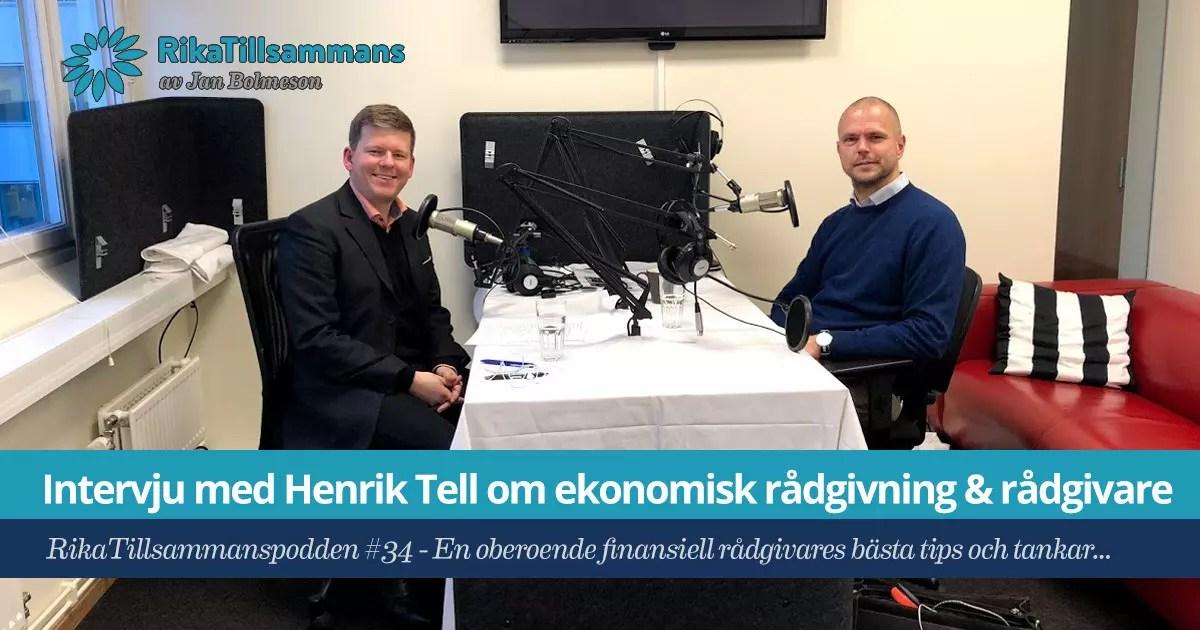 RikaTillsammans-podden #34 - Intervju med Henrik Tell