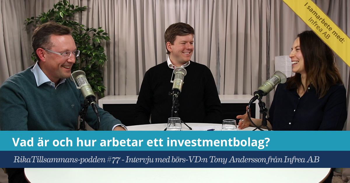 Vad är och hur arbetar ett investmentbolag?