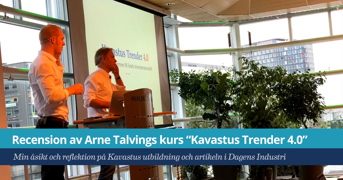Recension av Kavastus Trender 4.0