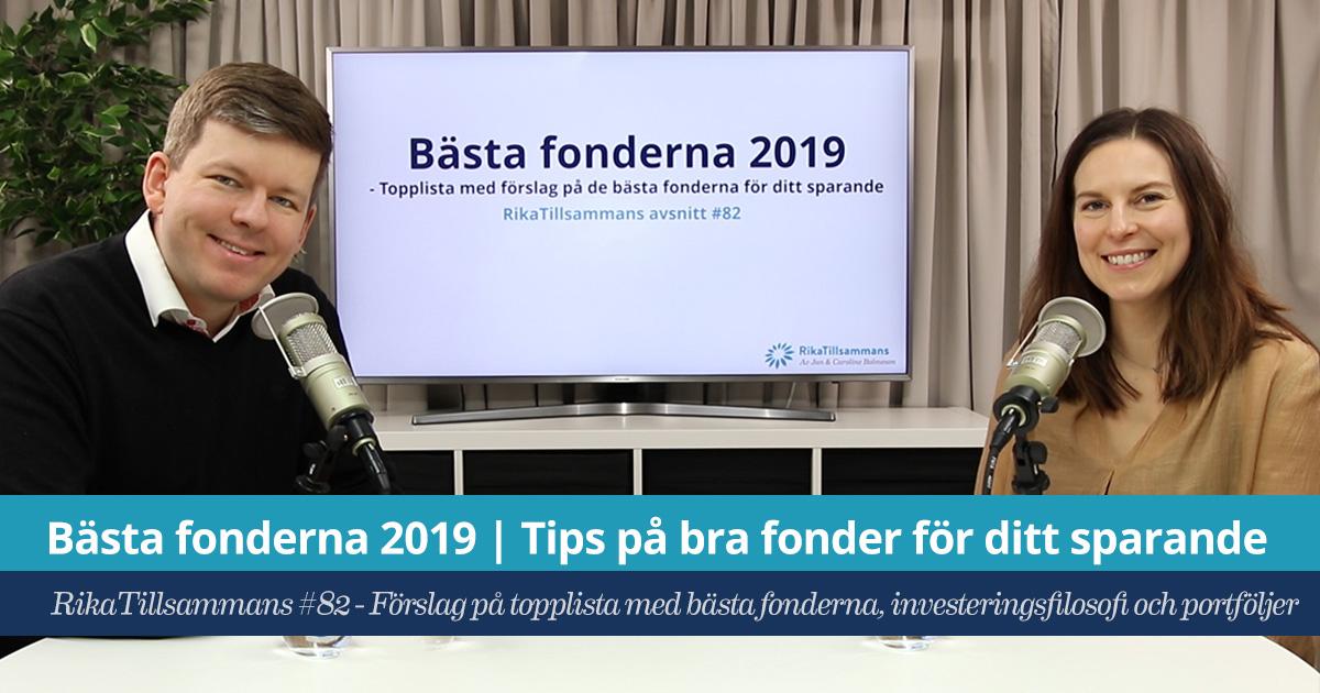 76497d699c9 Bästa fonderna 2019 | Tips på bra fonder, indexfonder och ETF:er
