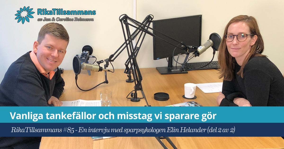 Vanliga tankefällor | Intervju med Elin Helander