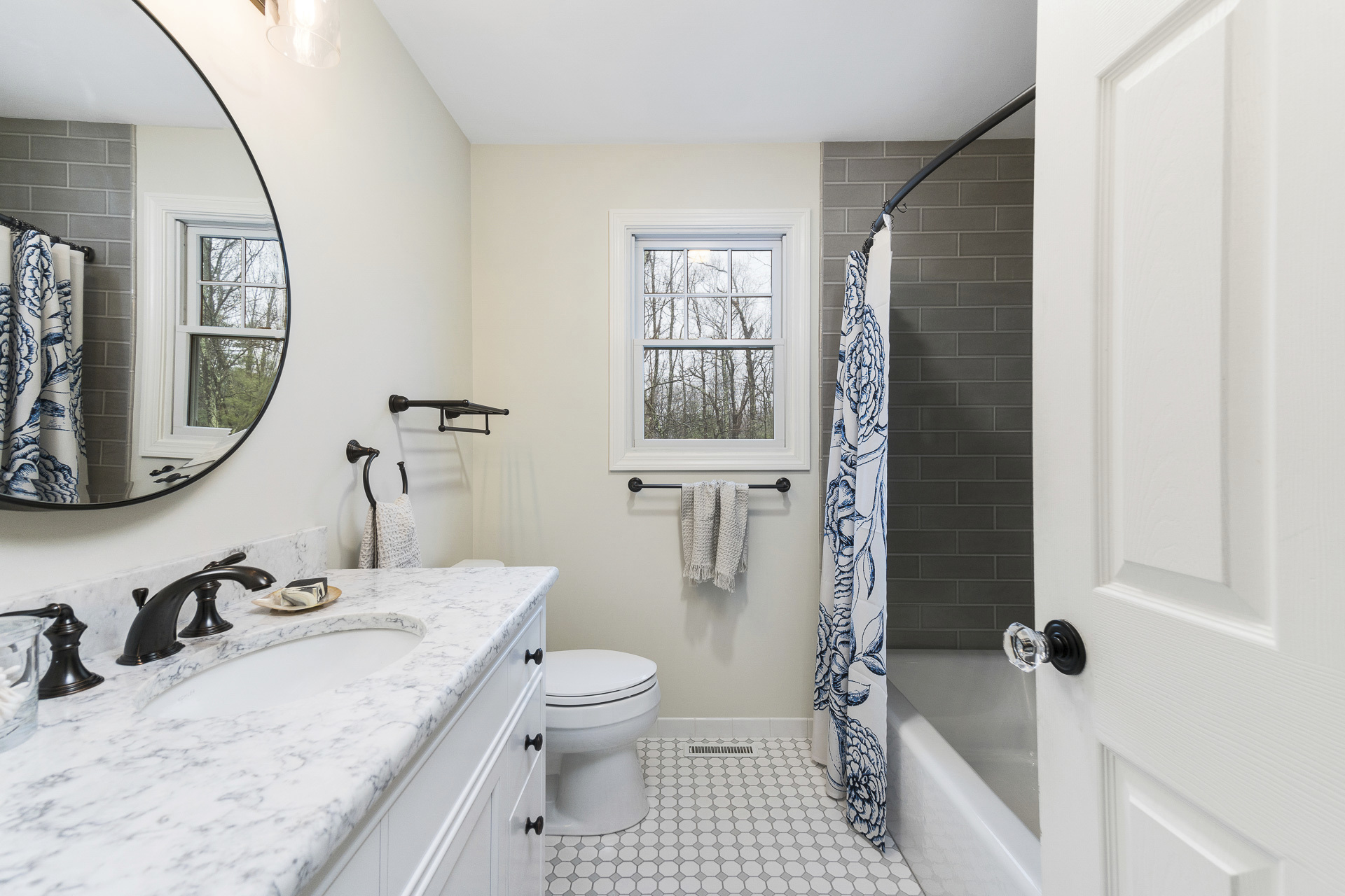 timeless and traditional bathroom