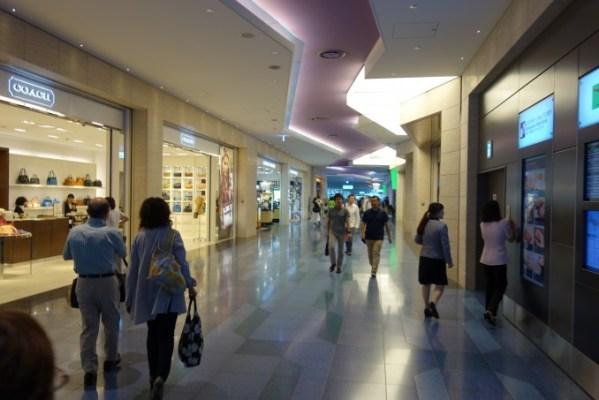 羽田空港国際線ターミナル 制限エリア