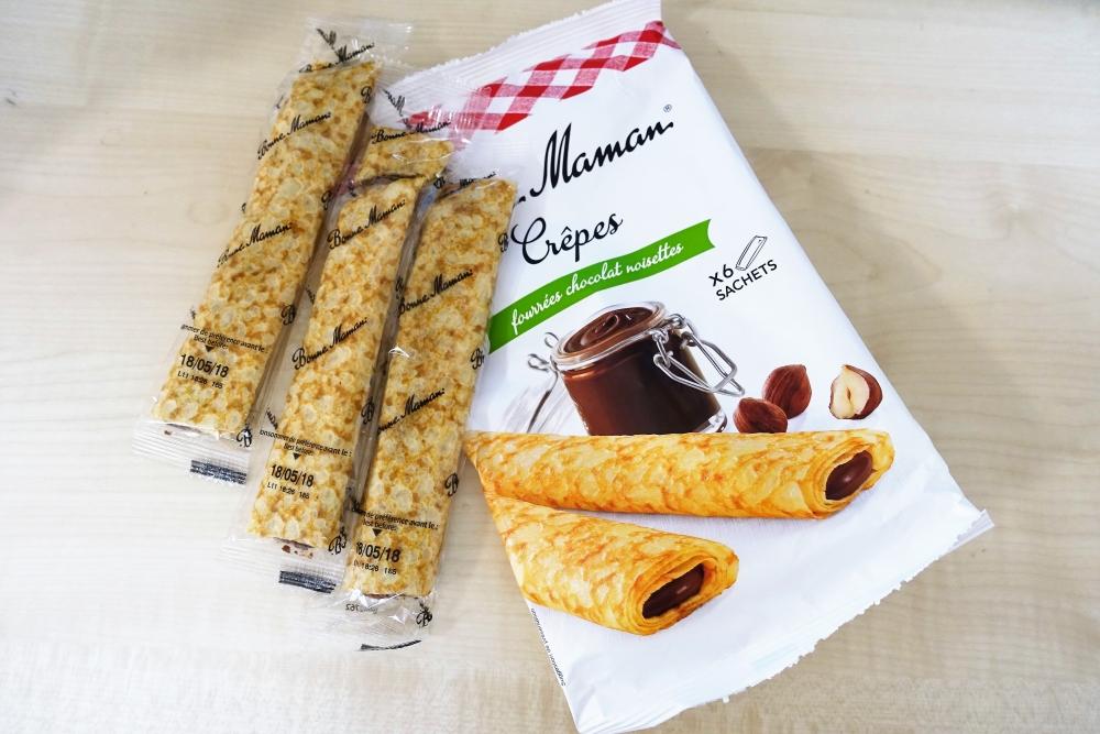 ボンヌ・ママン チョコクレープ