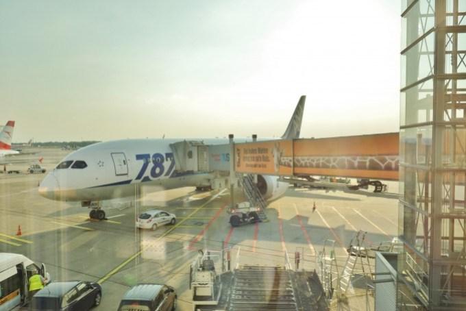 ANAの飛行機787