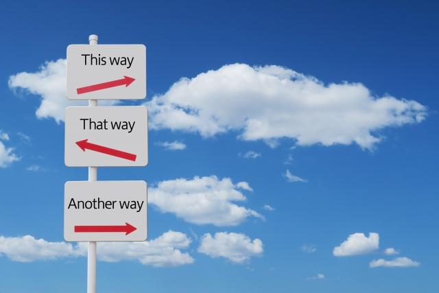 3つの選択肢