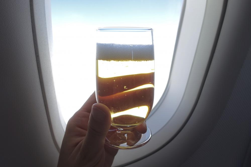 ルフトハンザ280便 ビジネスクラス機内食