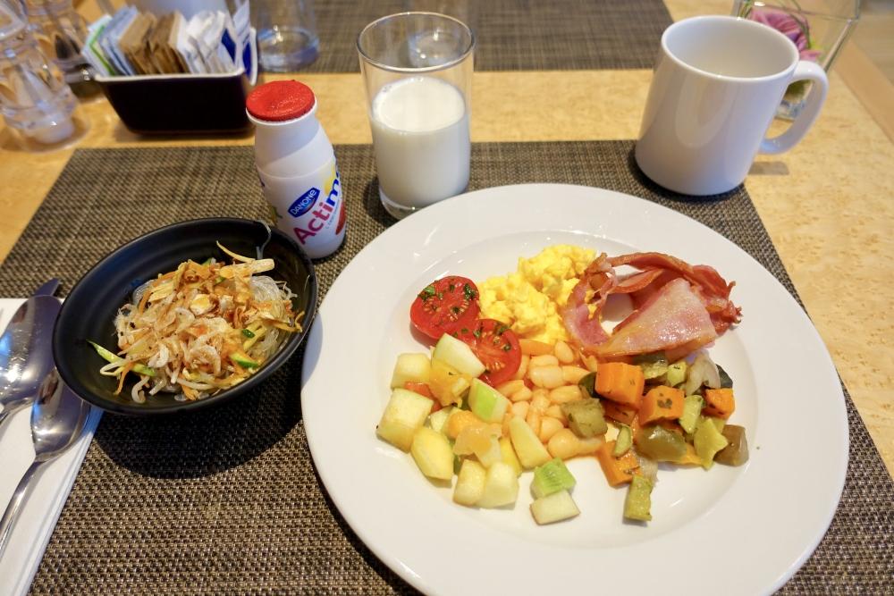 ヒルトンミラノ パシフィックミラノレストラン 朝食
