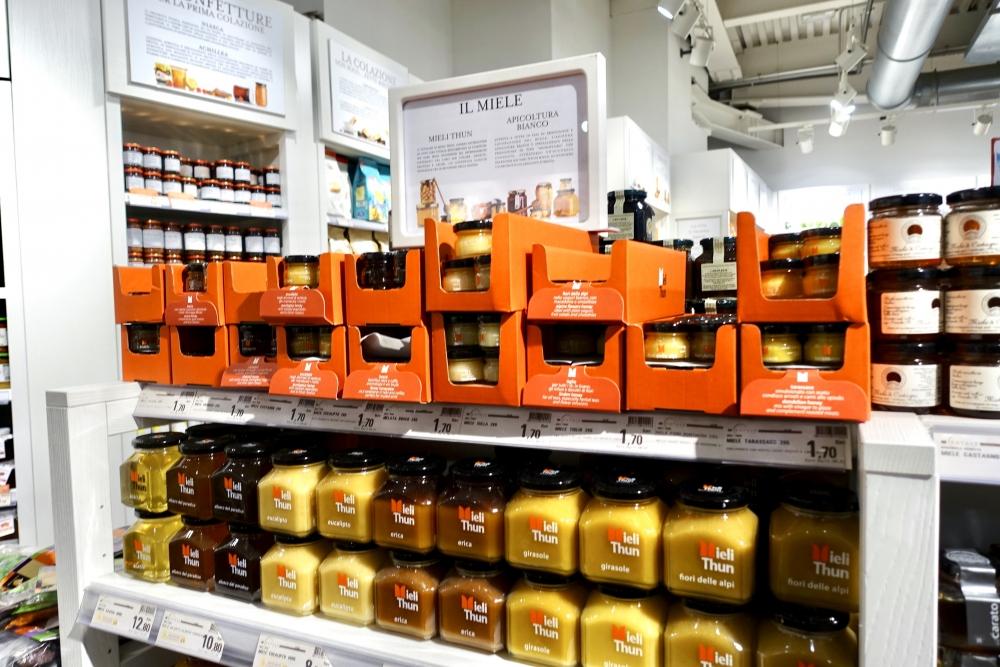 イタリアお土産ランキング第3位の蜂蜜
