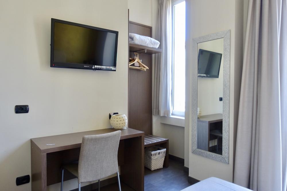 イタリア・ミラノ・ビオシティ・シングルルーム