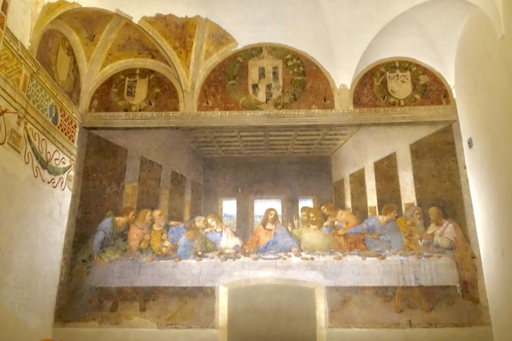 イタリア・ミラノ最後の晩餐見学