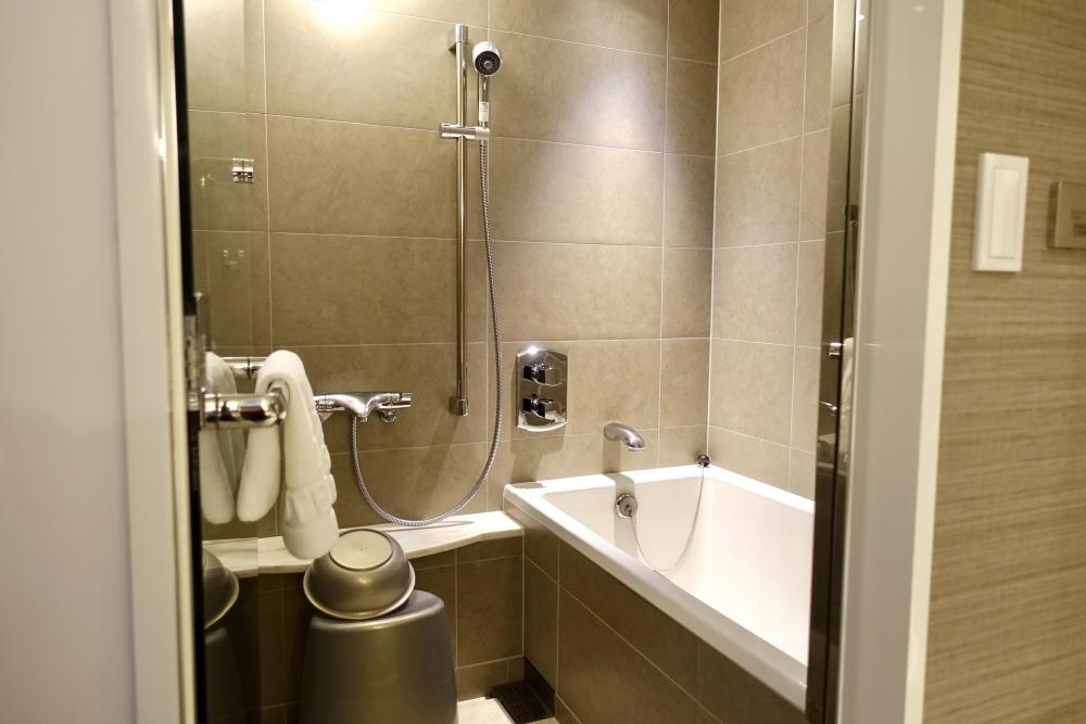 シェラトン都ホテル東京エグゼクティブスーペリア浴室