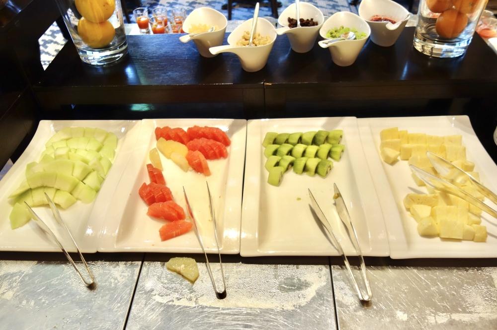 セントレジスホテル大阪朝食のフルーツ