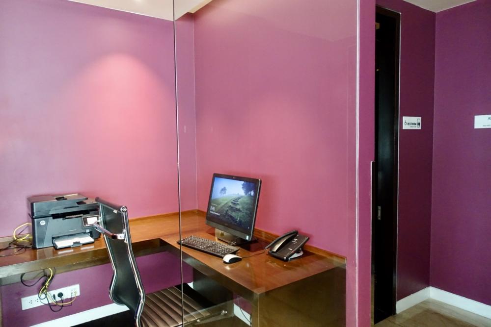 ルメリディアンサイゴン22階のクラブラウンジビジネスセンター