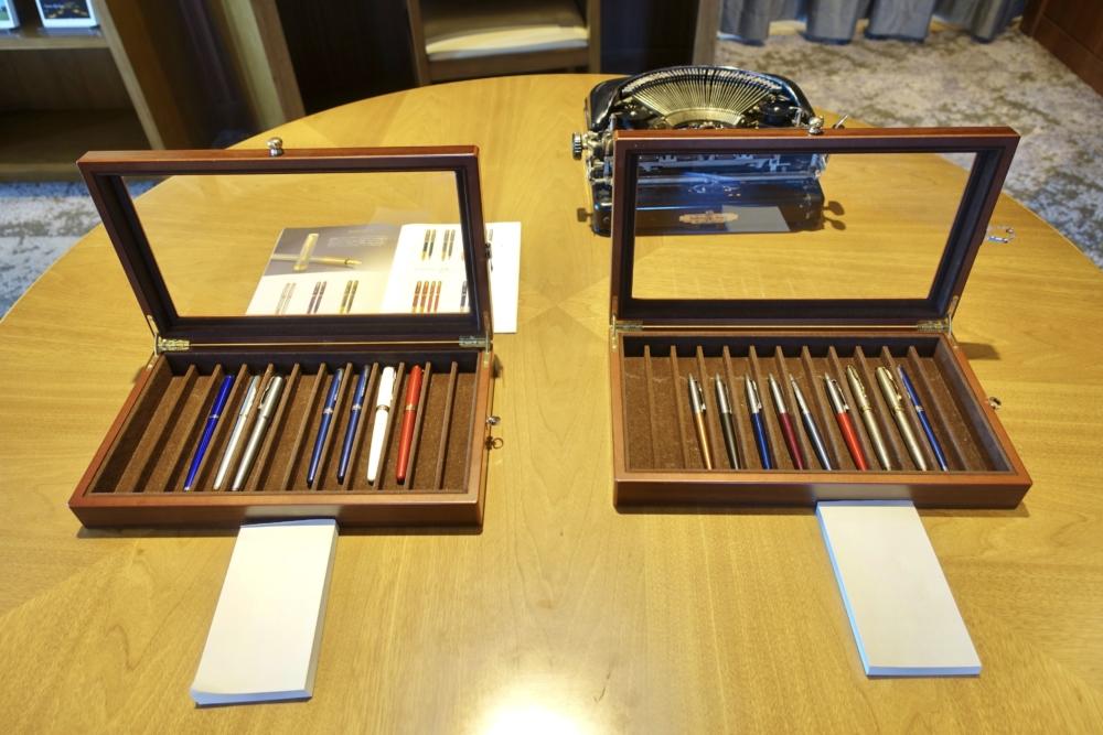 宮崎シェラトン・グランデ・オーシャンリゾート風待ちテラス内のレタールームこだわりの文房具