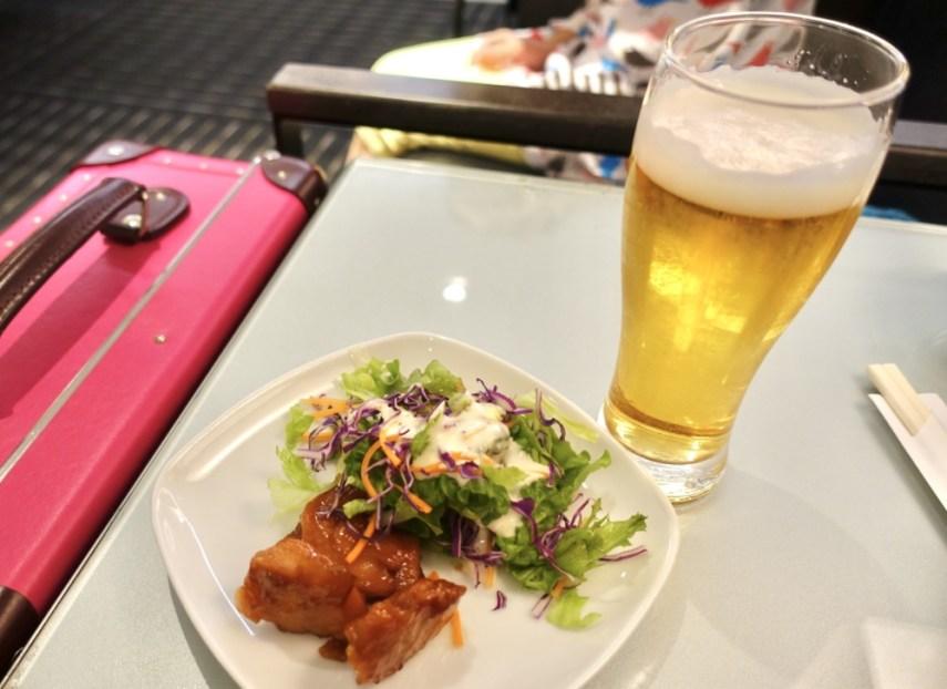 成田空港第4ターミナルANAラウンジ
