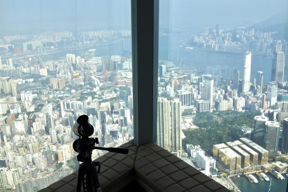 リッツ・カールトン香港デラックススイートリビングルーム