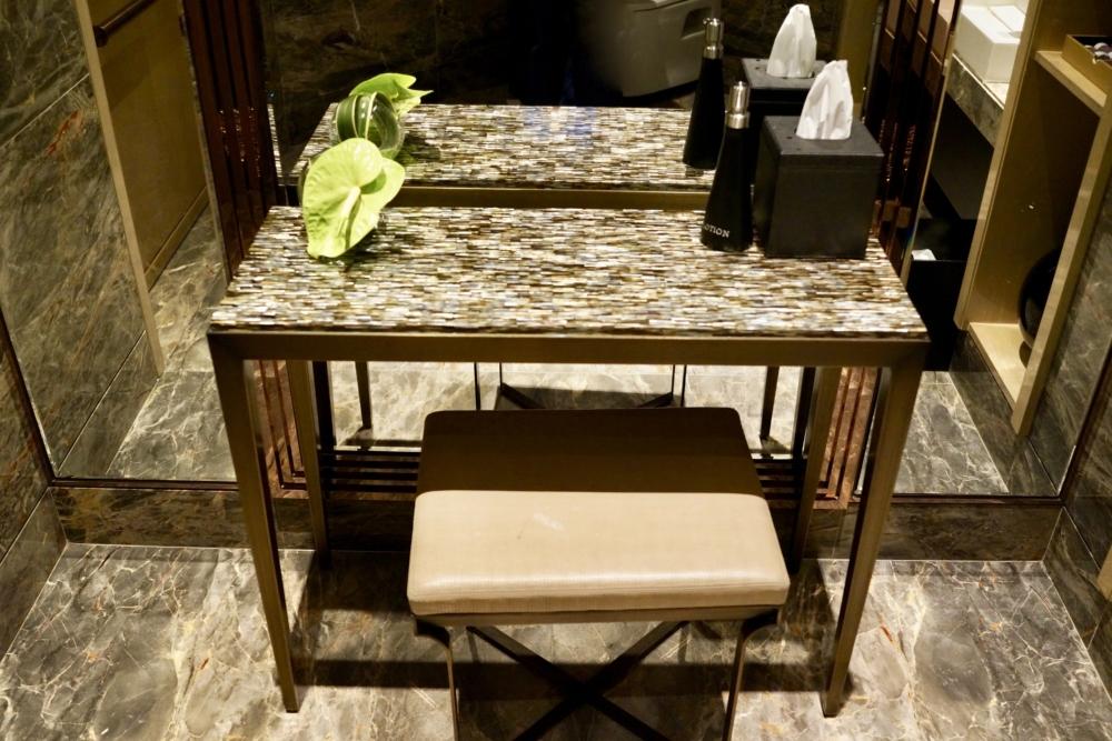 リッツ・カールトン香港クラブラウンジの化粧室