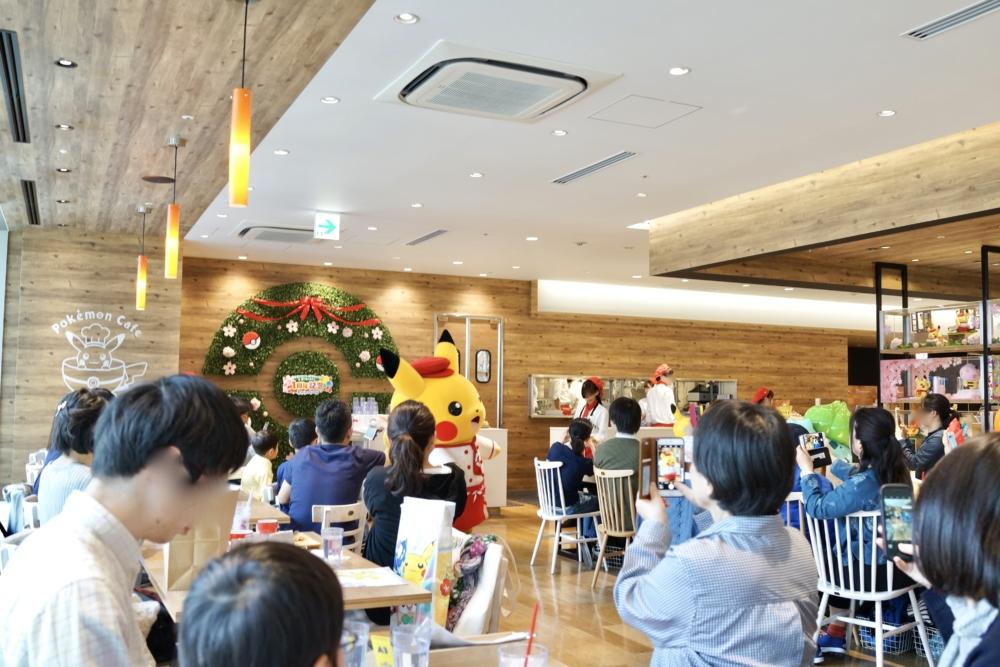 日本橋高島屋ポケモンカフェの店内