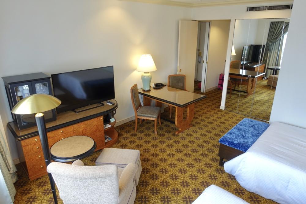 ウェスティンホテル大阪ジュニアスイート・ベッドルーム