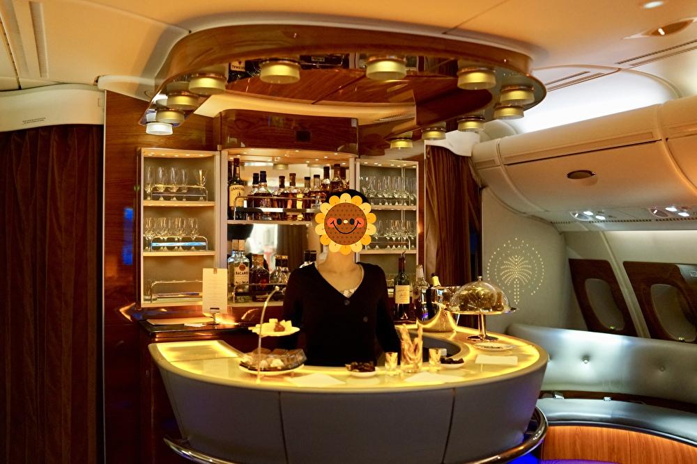 エミレーツ航空A380ファーストクラス