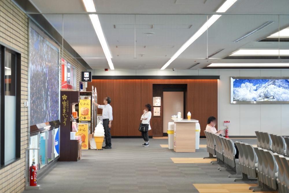松山空港JALサクララウンジの場所