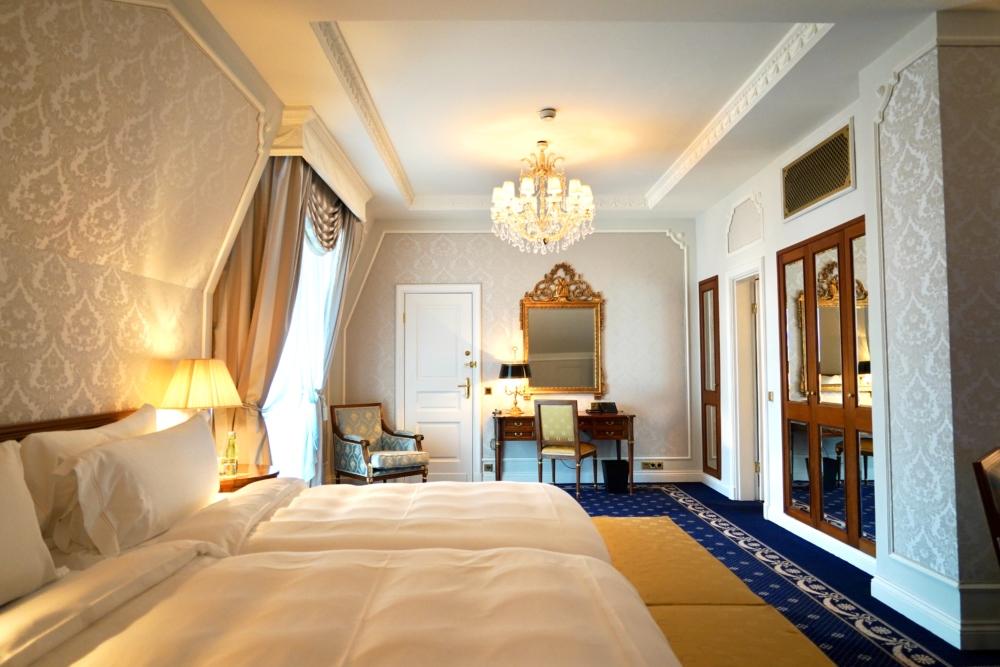 ホテルインペリアルウィーン・エグゼクティブジュニアスイート・ベッドルーム