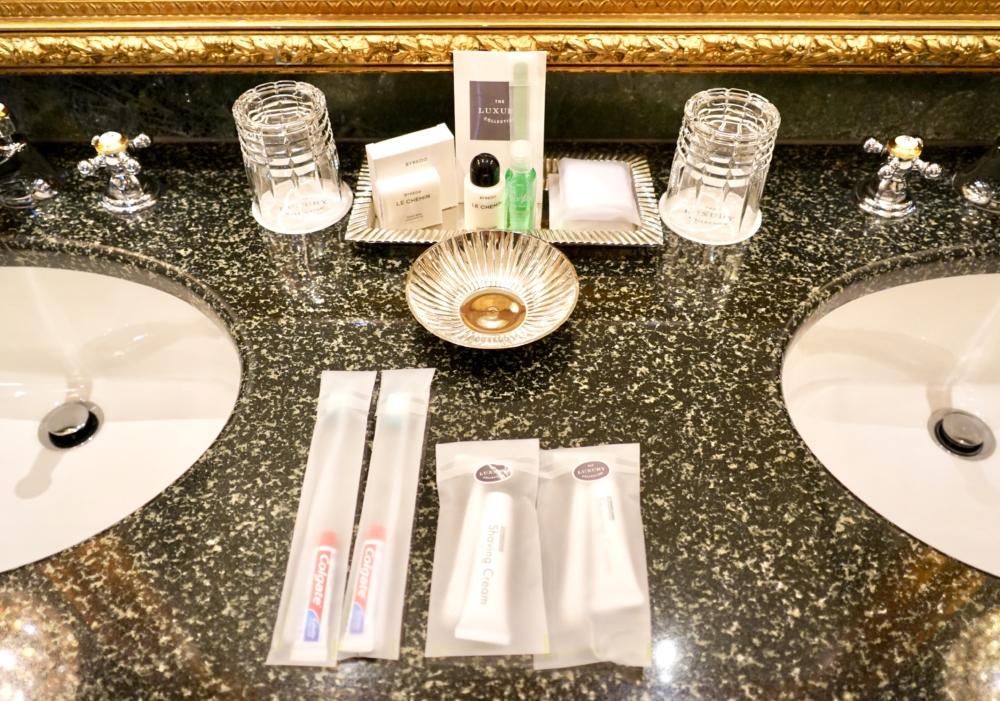 ホテルインペリアルウィーン・エグゼクティブジュニアスイート・洗面台