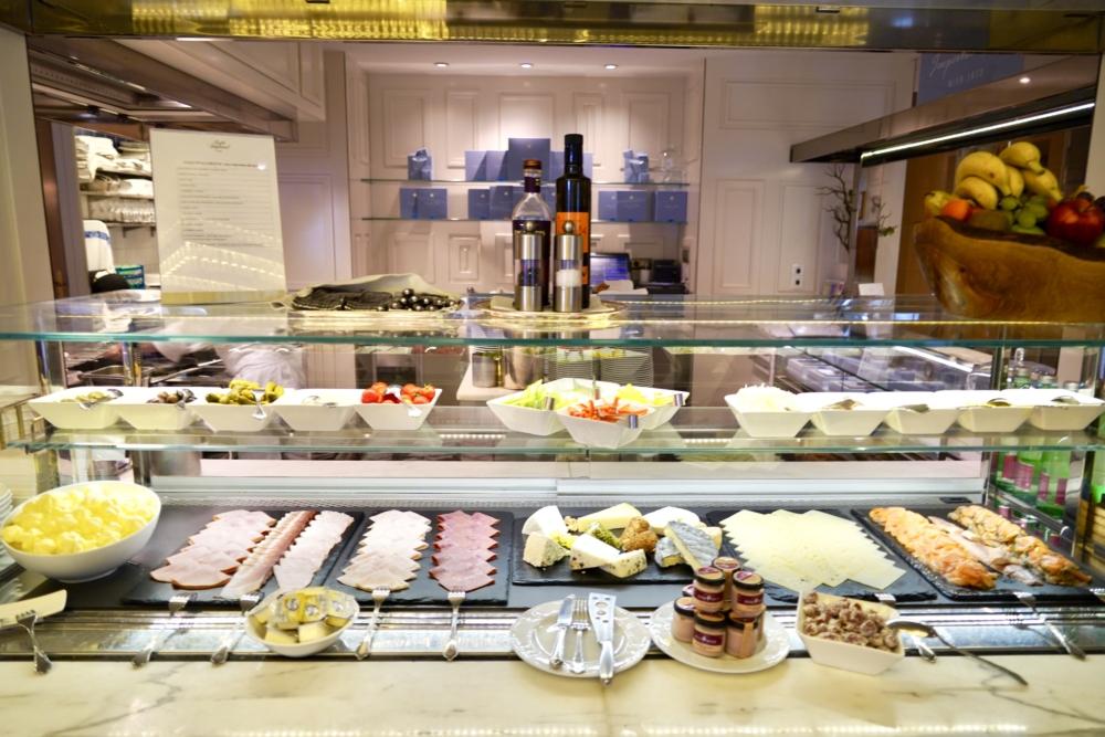 ホテルインペリアルウィーン・カフェインペリアルの朝食・冷菜