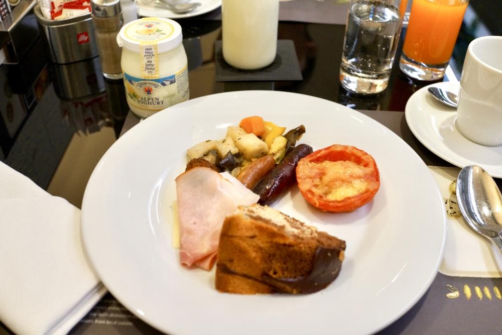 ルメリディアン ウィーン・レストランYOU・朝食