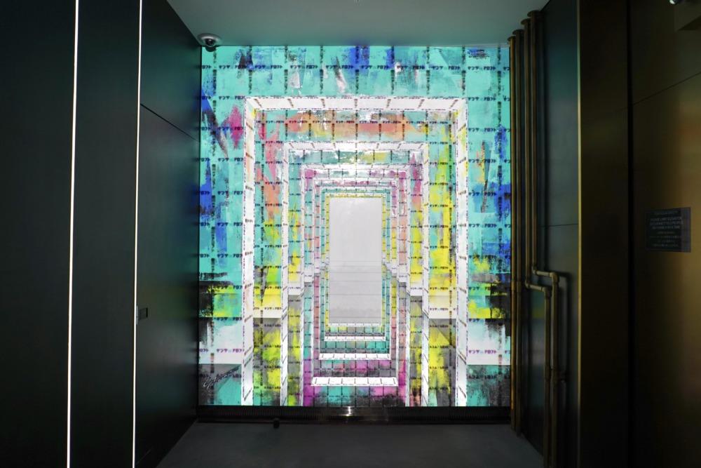 アロフト銀座・エレベーターホール