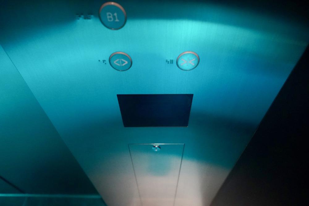 アロフト銀座・エレベーターセンサー