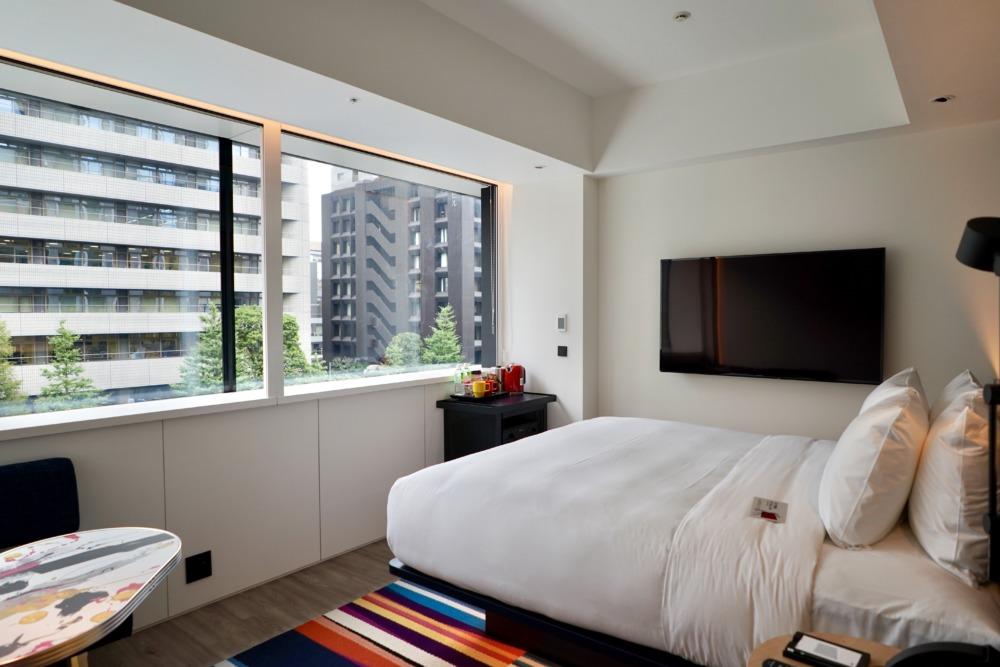 アロフト東京銀座・サヴィーキング・ベッドルーム