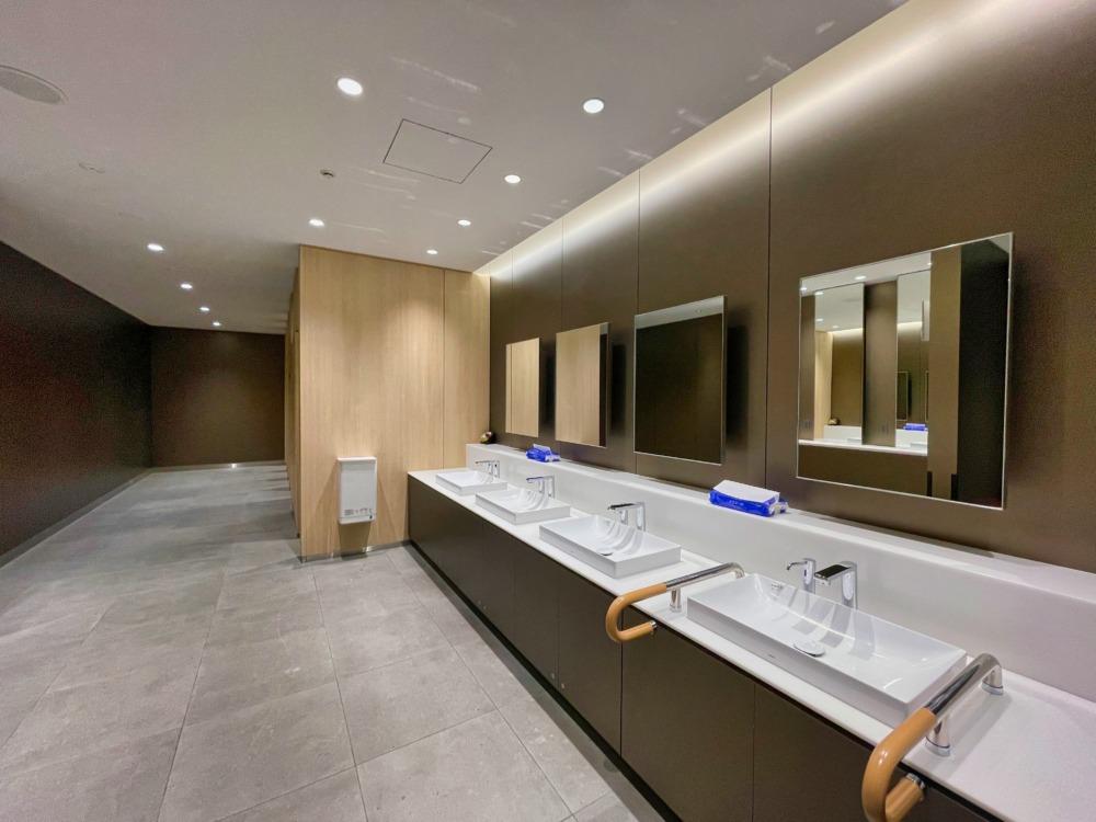 大阪伊丹空港ANAラウンジ〜お手洗い