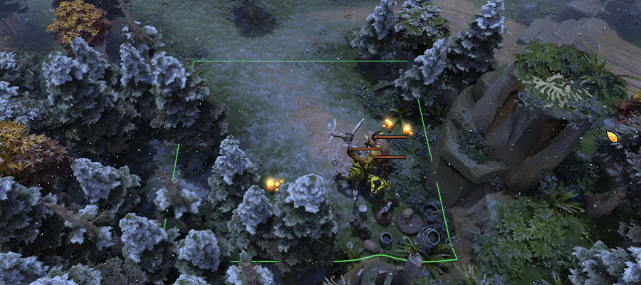 New Ward Spots And Terrain Changes In 686 DOTABUFF