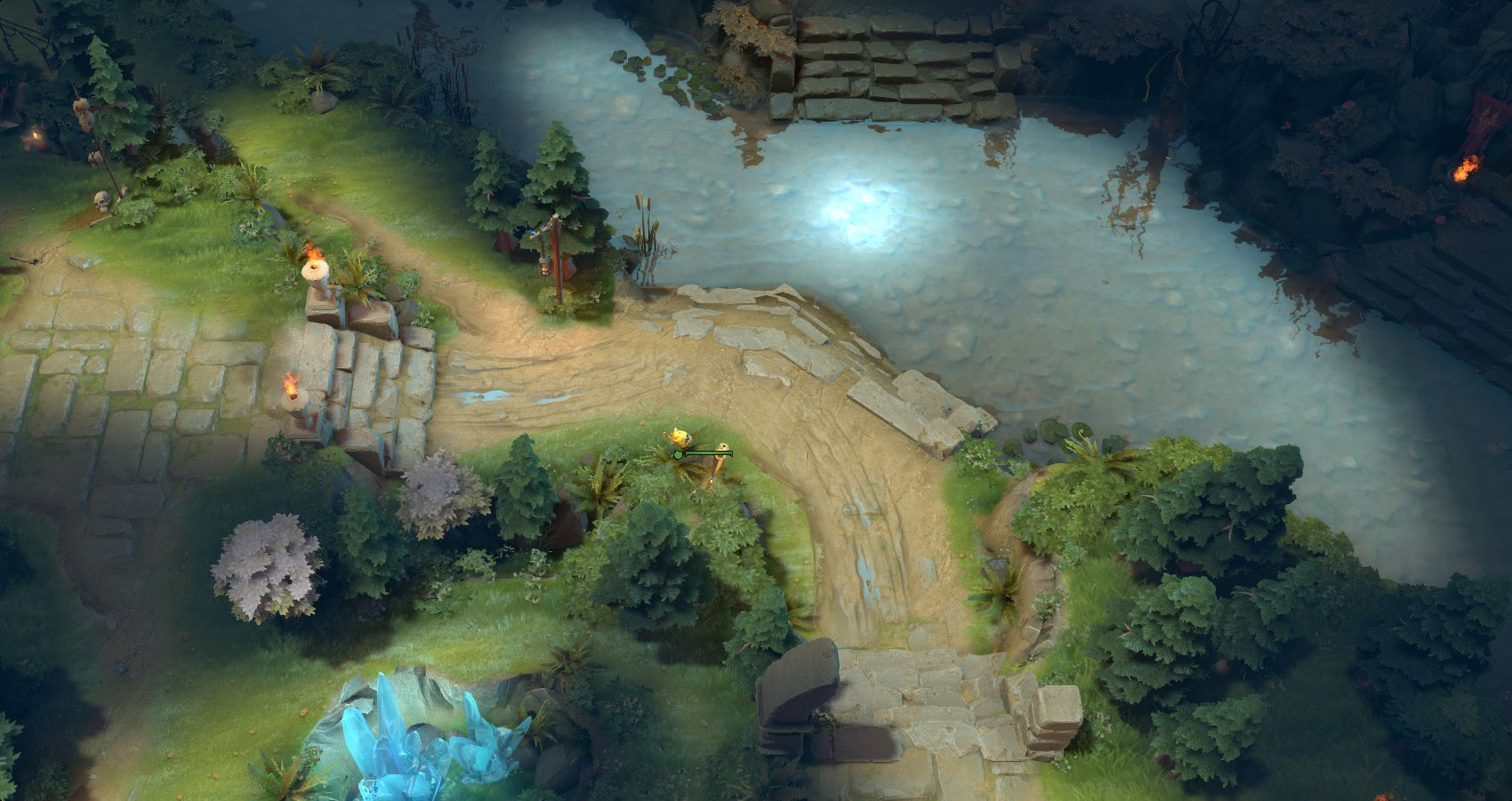 New Ward Spots And Terrain Changes In 707 DOTABUFF
