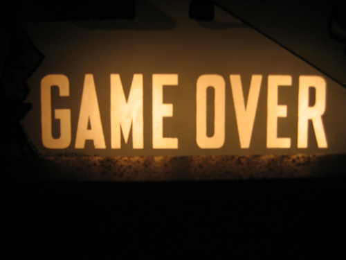 team game over summary