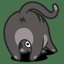 1479980288 cat upsidedown