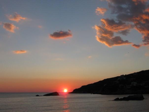 Ulcinj solnedgang