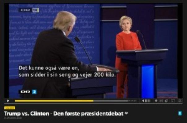 Trump og Clinton