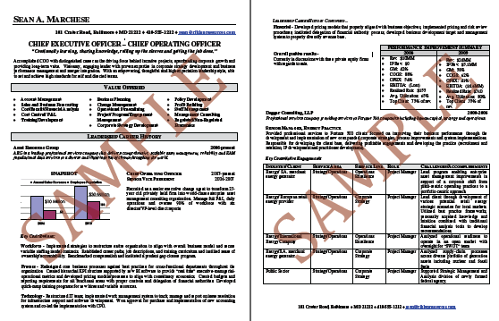 Sample Resumes Resume Writing NYC Career Services NJ