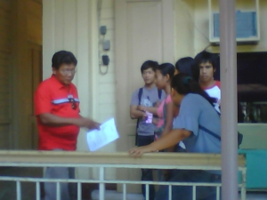 Young Ilocano Sociologists at work