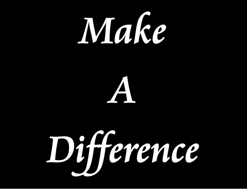 マイケルジャクソンMan In The Mirrorから始まる「Make A Difference」の本当の意味、そして人生の意味