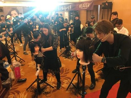 パーマ 中国 セミナー