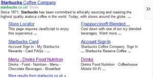Google Search Result Snippet
