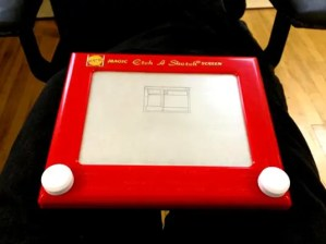 etch-a-sketch wireframe