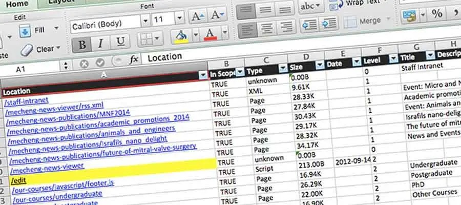 Better Content Inventories With Content Analysis Tool