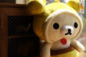 Korilakkuma Honey Bee Plush Toy 2