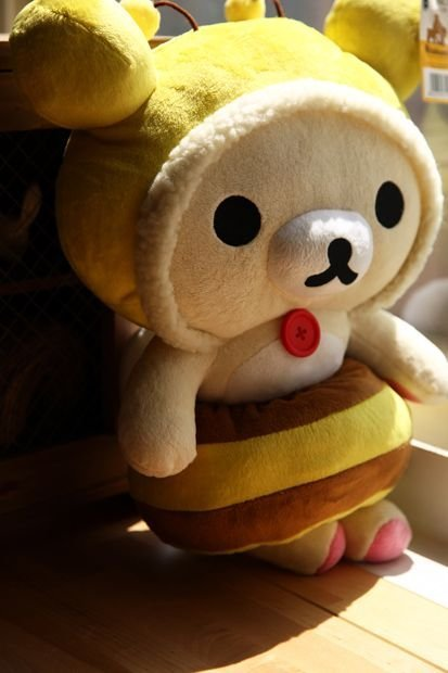 Korilakkuma Honey Bee Plush Toy
