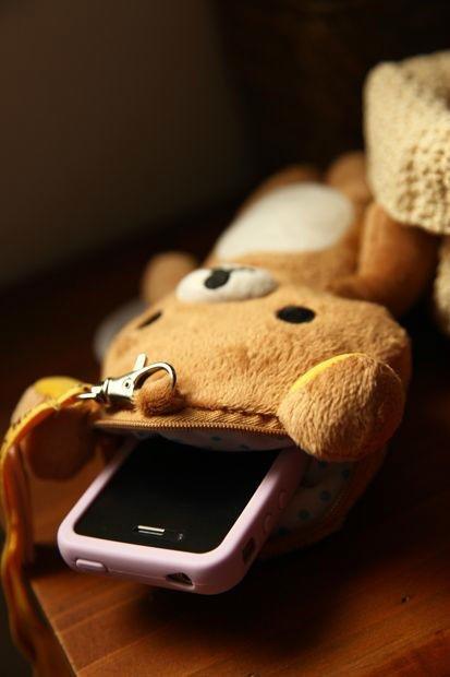 Rilakkuma Plush Phone Bag 5
